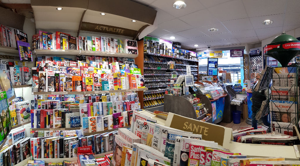 A vendre BREST CENTRE Fond de Commerce Tabac Presse FDJ Centre Ville