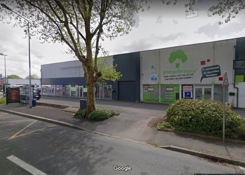 Local commercial 397 m2 secteur Villeneuve Brest Finistère